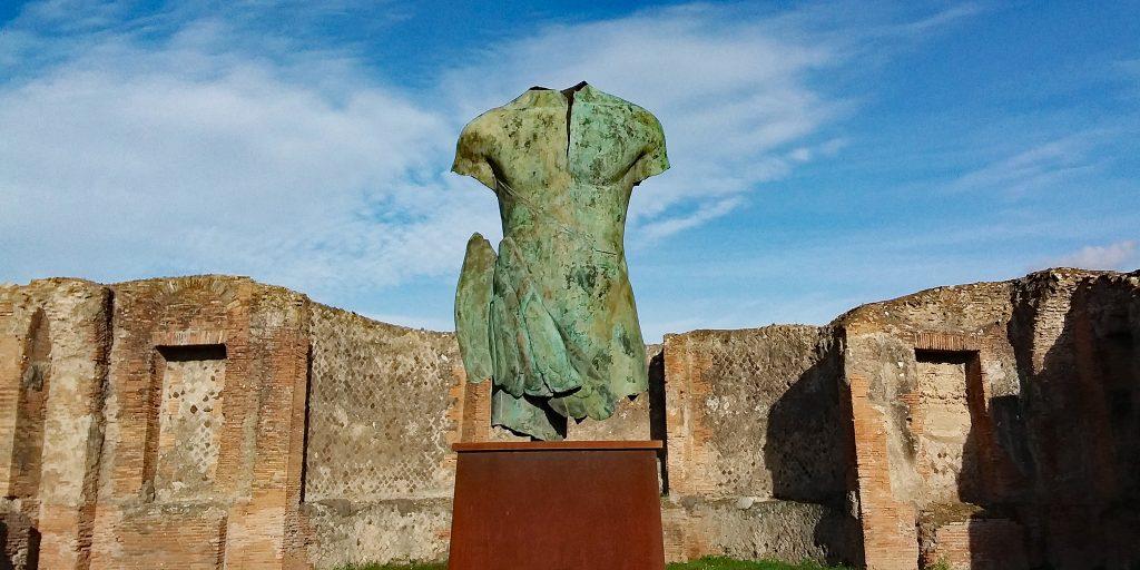 Mitoraj in Pompeji
